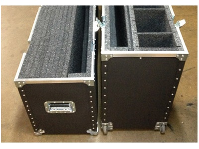 Trunk Style Case with Dividers