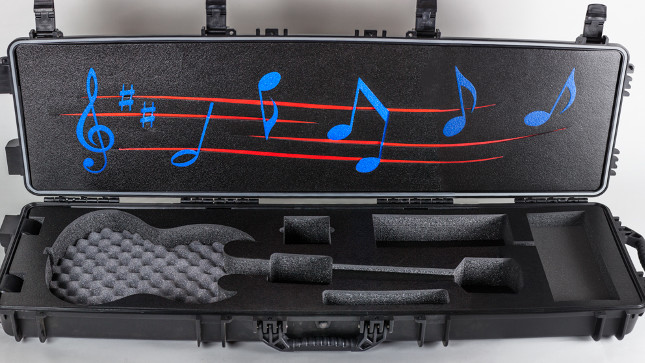 Wheeled Musical Instrument Case