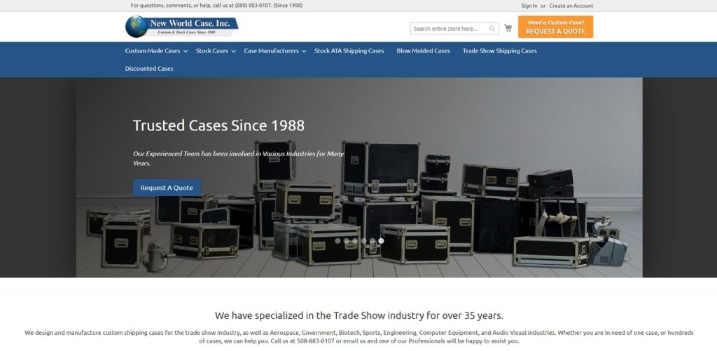 New World Case, Inc.
